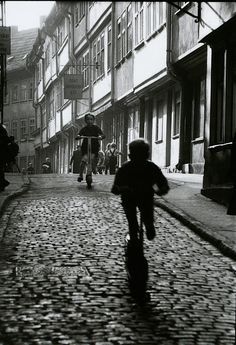 Willy Ronis    Erfurt, 1960