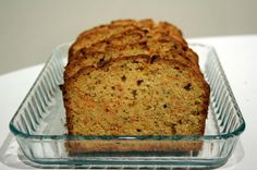 Whole Wheat Zucchini or Carrot Bread: I mixed the two veggies and this bread is delicious! Made it with honey the first time, now using brown sugar, we'll see if there is a difference!