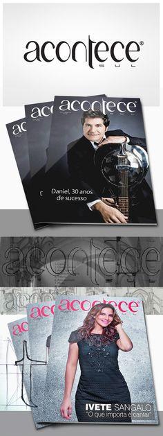 Logotipo: Revista Acontece Sul     Designer: Ale De Rossi     Agência: Pit Comunicação