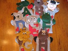 Great teaching aid. Its a hand puppet of the Alphabet like D is for Dog.... Deeee is for Dog. A must have for Teachers and Day cares. Interactive is the best way to learn.