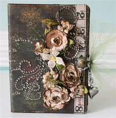 Scrapbook Mini Album Tutorials | This is definitely a favorite mini album! I just love the colors ...