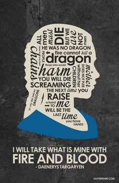 Daenerys Targaryen by Outnerdme