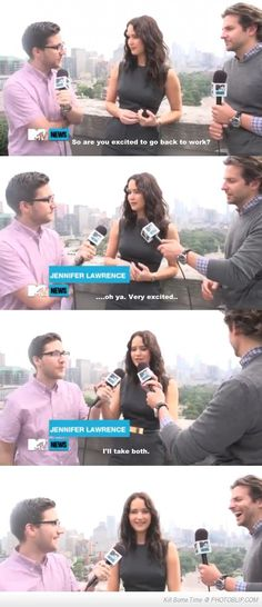 Jennifer Lawrence Awkward Interview