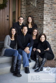 Winter Family Portraits In Durango Colorado Photography By