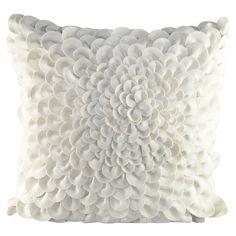 Found it at Wayfair - Puffy Dahlia Felt Throw Pillow