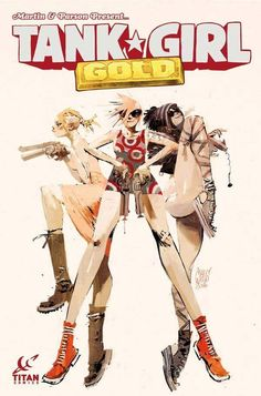 !!!NMX!!! — Ashley Wood - Tank Girl Gold #1 variant cover A...