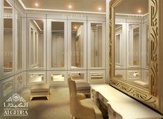 elegant dressing room interior