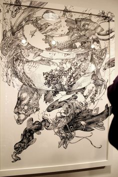Katsuya Terada.  Incredible artist who I should've known about sooner.