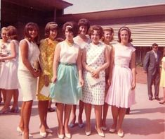 washed out 60s casual dresses