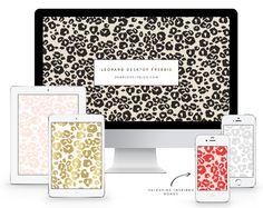 Bezpłatne Leopard Print pulpitu do pobrania za pośrednictwem Szanowny Piękny