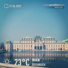 #weather #instaweather #instaweatherpro  #sky #outdoors #nature  #instagood #photooftheday #instamood #picoftheday #instadaily #photo #instacool #instapic #picture #pic @instaweatherpro #place #earth #world #wien #österreich #day #spring #skypainters #at #schloss #belvedere #castle #barock