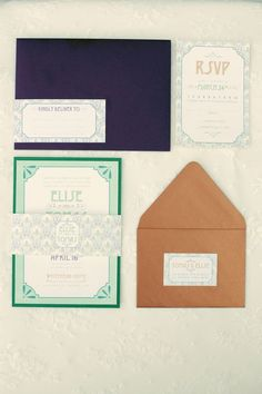 invitations navy terracotta - Google Search