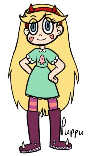 Star Butterfly made by puppu