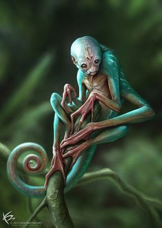 The Art of Ken Barthelmey - Creature Designer / Concept Artist / Illustrator