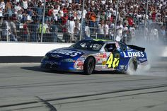 2nd victory Sept. 22, 2002.  Photos: Look back at Jimmie Johnson's 10 victories at the Monster Mile | FOX Sports