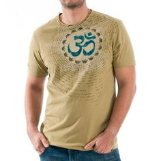 OM Men's Tee Cedar  by Lonesome George & Co.