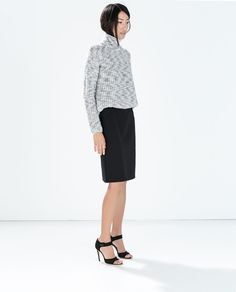 ZARA - WOMAN - PENCIL SKIRT