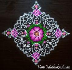 Diya Rangoli, Simple Rangoli, New Rangoli Designs, Beautiful Rangoli Designs, Diwali