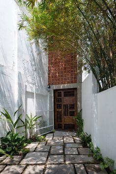 Casa Zen, projeto por H.A- Vietnã.