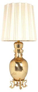 #Hollywoodglam #vintage Lighting rare collectable original Marbro Brass Lamp at huge discount #sale