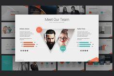 Marketing Idea PowerPoint Template  by slidesugar on @creativemarket