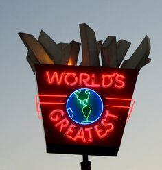 World's Greatest Fries sign, MN State Fair | Flickr - Photo Sharing!