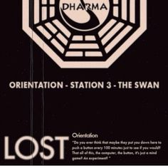 The design of the dharma station logo's was brilliant.