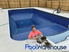 The Simpson Kentucky Swimming Pool Kit Construction is another great example of how easy it is for families to install their own DIY pool kit. Natural Swimming Ponds, Swimming Pools Backyard, Pool Decks, Diy In Ground Pool, Ground Pools, Backyard Pool Designs, Backyard Patio, Backyard Ideas, Pool Warehouse