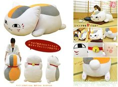 Nyanko Sensei plush (more pictures)