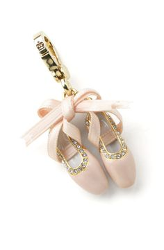 juicy couture charms | Juicy Couture Jewelry Ballet Slippers Charm|StormPrice.com