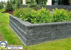 Ashlar Blend by AB Collection - Anchorage Sand & Gravel Besser Block, Masonry Blocks, Sand And Gravel, Backyard Garden Design, Block Wall, Landscape Walls, Retaining Walls, Sidewalk