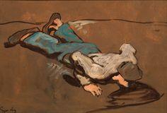 Albin Egger-Lienz (Lot Auktion - im Kinsky Auktionshaus Online Katalog, Painting, Art, Picture Composition, Life And Death, A Letter, Art Background, Painting Art, Kunst
