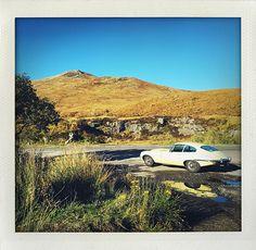 Jaguar E-type, Glencoe, Scotland (I huvudet på Elvaelva)