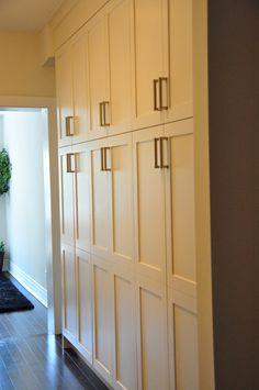 Hallway closet idea