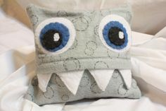 Microwaveable Heat Monsters! So Cute! Great idea! I have made a whale before but monsters would be awesome and easier.