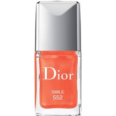 Dior Beauty Dior Vernis Couture Colour Long Wear Nail Lacquer (€24) ❤ liked on Polyvore featuring beauty products, nail care, nail polish, gel nail polish, christian dior, christian dior nail polish and holiday nail polish