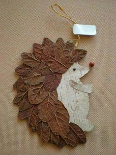 Basteln Schule Igel DIY Naturmaterialien Blätter herrlicher Look Tips On Talking To Kids About Not S Autumn Crafts, Autumn Art, Nature Crafts, Christmas Crafts, Pinecone Crafts Kids, Diy Autumn, Autumn Ideas, Art Nature, Leaf Crafts