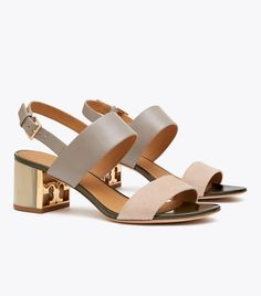 Visit Tory Burch to shop for Gigi Sandal and more Womens Escarpins. Find designer shoes, handbags, clothing & more of this season's latest styles from designer Tory Burch. Isle Of Man, Sandals Outfit, Women's Shoes Sandals, Mules Shoes, Leather Sandals, Sierra Leone, Seychelles, Barbados, Belize