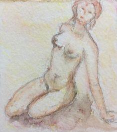 Naakt | Nude - watercolor