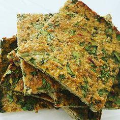 """Broccoli """"Flatbread"""" met spinazie"""