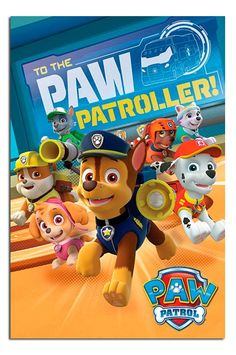 Paw Patrol To The Paw Patroller Poster | iPosters | iPosters