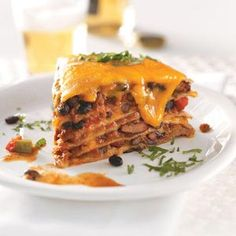 Enchilada Pie Recipe ~ One of 2012's best recipes from Taste of Home!