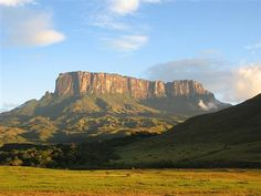 Table Top Mountain in South Africa