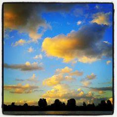 Grasbroek. ..clouds