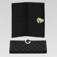 Gucci 212113 Ffp5g 1000 Continental Geldb?rse mit dem Round G-Detail Gucci Damen Portemonnaie