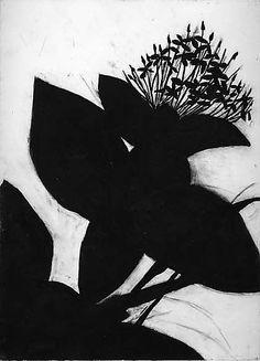 Ixora - Jungle Flame  Susan Davidoff  (American, born 1953)