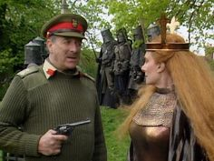 Nicholas Courtney and Jean Marsh star in this spluttering Arthurian codswallop Doctor Who Tv, Eleventh Doctor, 4th Doctor, Dr Who Costume, Jean Marsh, Original Doctor Who, Sylvester Mccoy, Doctor Who Companions, Rory Williams