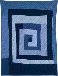 Pam Rocco My Greek Key quilt