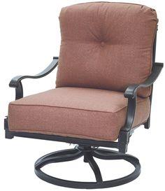 Darlee Charleston Swivel Club Chair with Cushion & Reviews   Wayfair