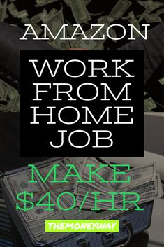 Looking for a work at home job? Everyday we post new work at jobs that are hiring right now. Make sure to apply for any jobs your are interest in fast Earn Money From Home, Way To Make Money, Make Money Online, Making Money From Home, Work From Home Companies, Work From Home Jobs, Amazon Work From Home, Amazon Jobs At Home, Ein Job
